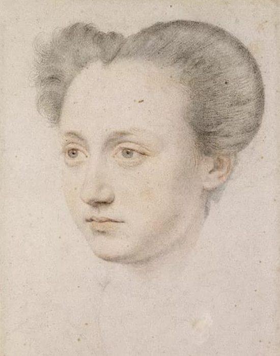 Мария Клевская - ангел чистой красоты.