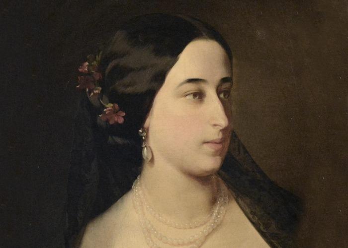 Мария Александровна Пушкина, худ. И. К. Макаров, 1860 г./ Фото: letidor.ru