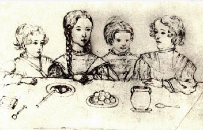 Дети пушкина фото с именами