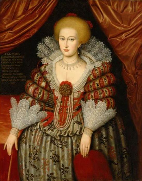 Мария Элеонора Бранденбургская - королева, которая спала с сердцем мужа.