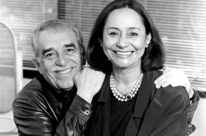 Габриэль Маркес и Мерседес Барга.