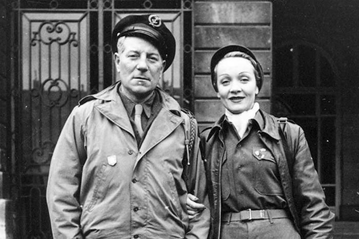 Марлен Дитрих и Жан Габен.