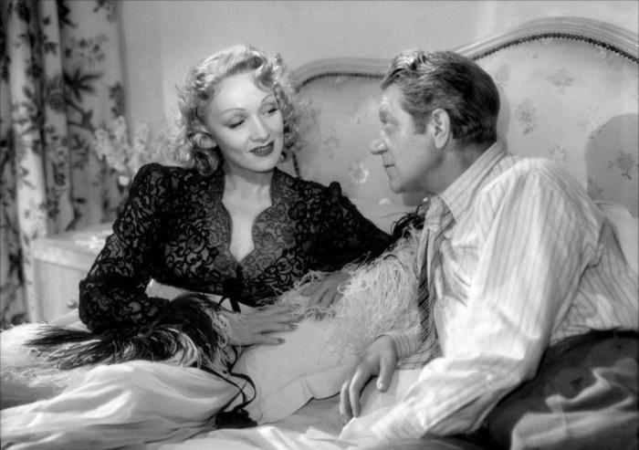 Марлен Дитрих и Жан Габен. 1946 год.