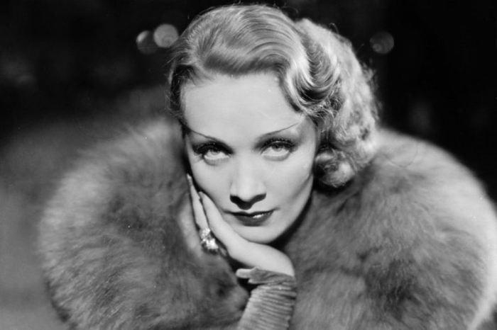 Марлен Дитрих - супер звезда 1930-х.