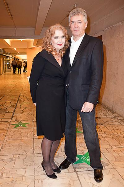 Ирина Алферова с мужем Сергеем Мартыновым.
