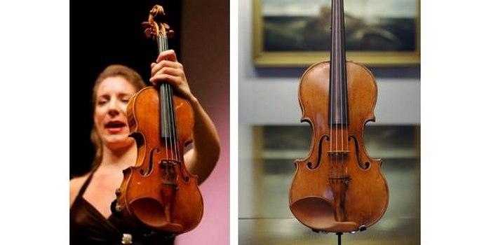 Уникальная скрипка Страдивари «Hammer Stradiavrius».