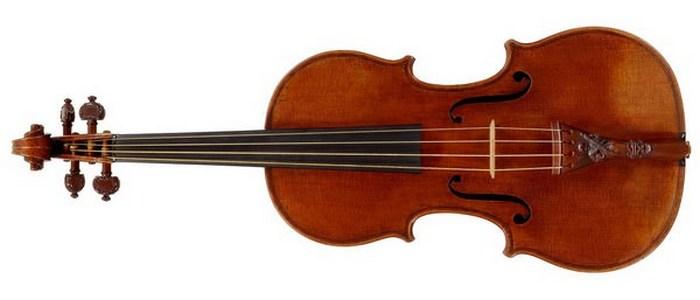 Уникальная скрипка Страдивари «Lady Blunt».