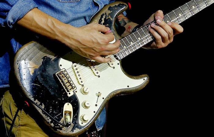 Эрик Клэптон и Blackie Stratocaster.