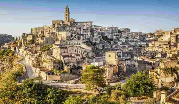 Итальянский город Матера.