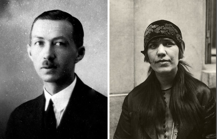 Борис Соловьёв и Марочка.