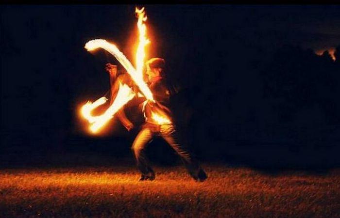 Подобие Burning Man.