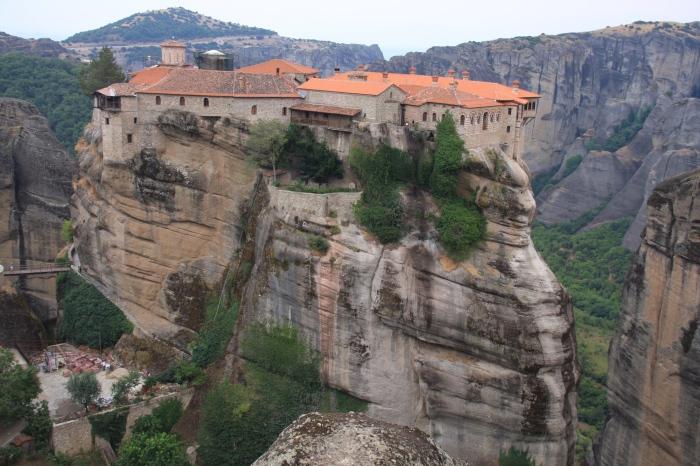 Megalo Meteoro - Преображенский монастырь.