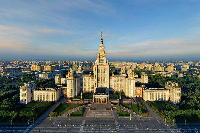 Здание МГУ на Воробьевых Горах.