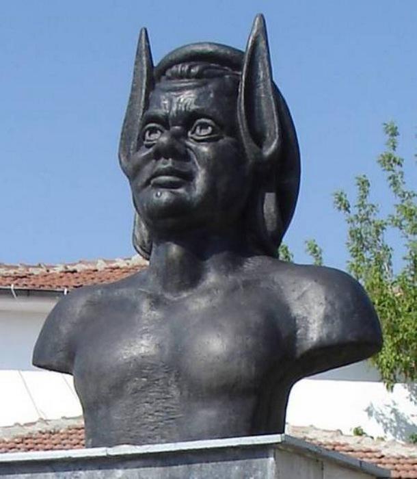 Царь Мидас с ослиными ушами.