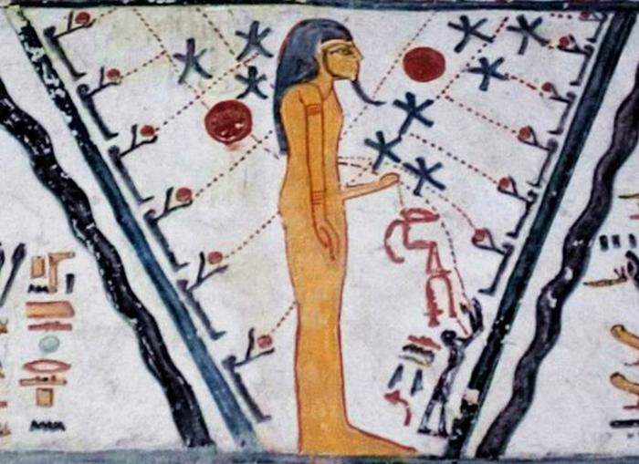Бог Атум - гермафродит.