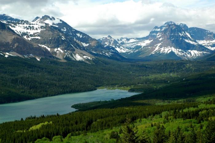 Национальный парк Глейшер.