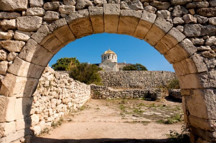 Археологический памятник Херсонес.