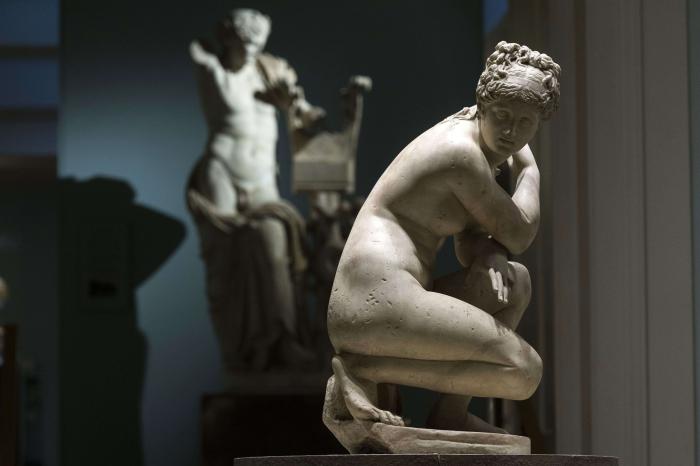 Кадр из фильма «Микеланджело».