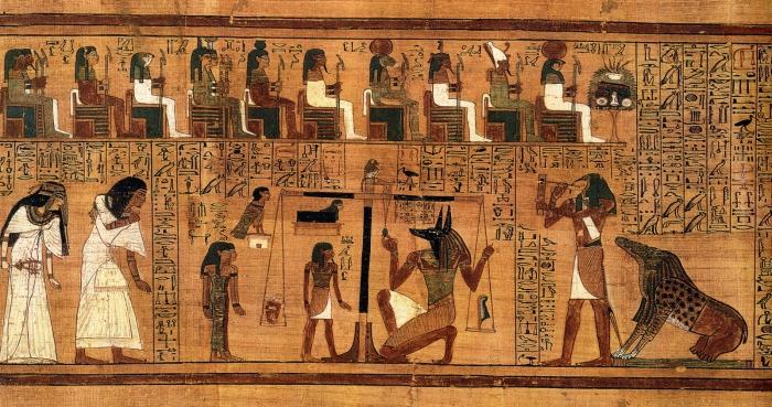 Человеческая жизнь на глазами древних египтян.
