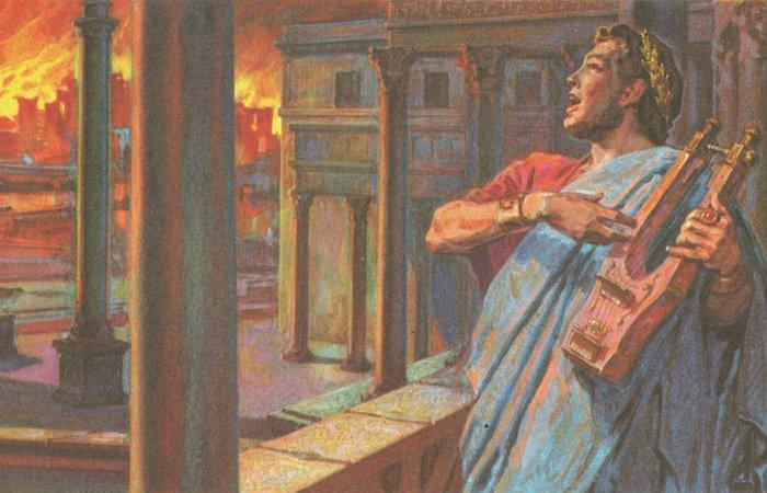 А была ли у Нерона скрипка?/фото: daviddarling.info