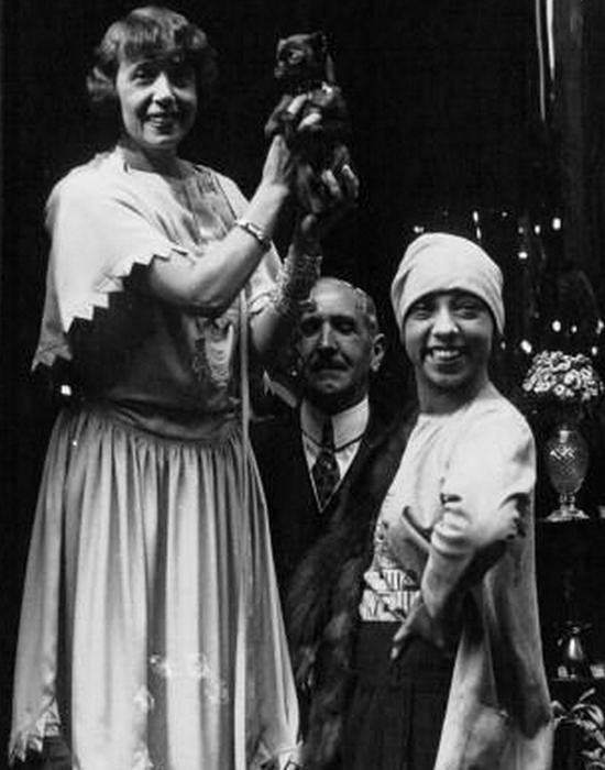 Мистангет и Жозефина Бейкер в 1927 году.