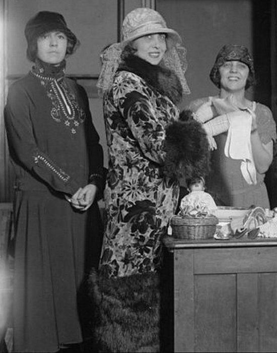 Мистангет в Соединенных Штатах в 1924 году.
