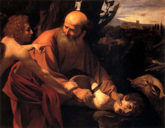 Микеланджело да Караваджо, Жертвоприношение Авраама.