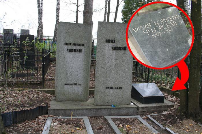 Могила Лидии Чуковской.