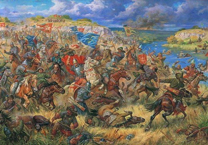 Закат Монгольской Империи.