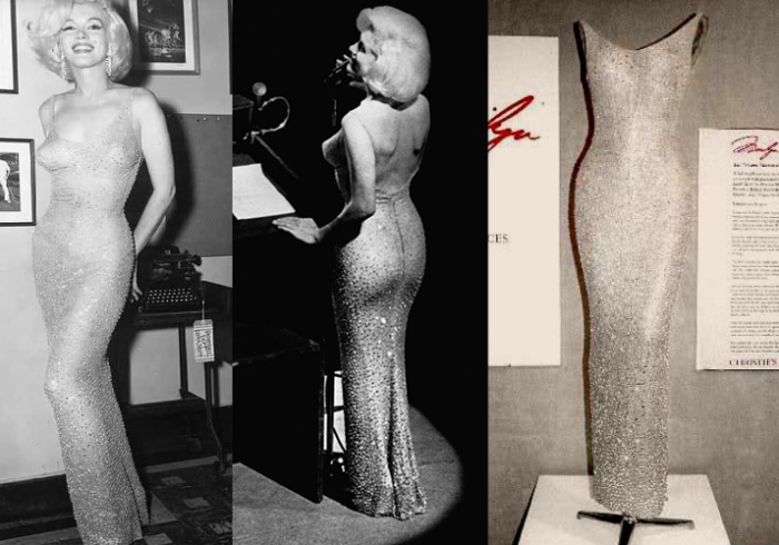 Мэрилин Монро - законодательница моды на прозрачные платья.