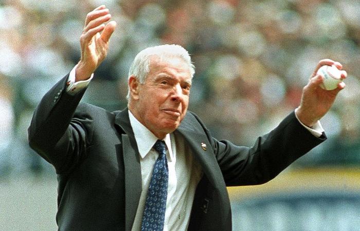 Легенда бейсбола Джо Димаджио. / Фото: actorz.ru