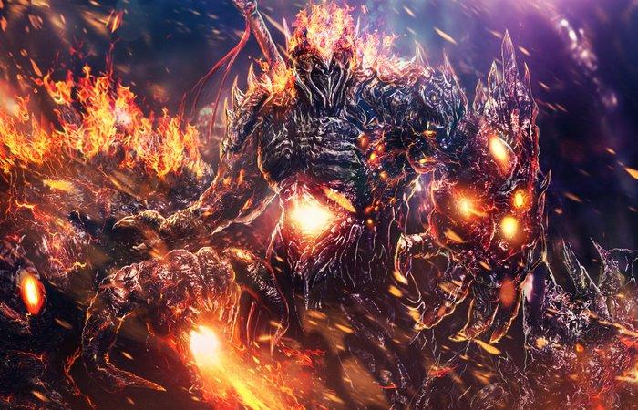 Монстр из мифа: Азазель. / Фото: mzrkart.deviantart.com