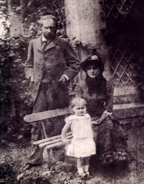 Берта Моризо с дочерью и деверем. / Фото: costumecocktail.com
