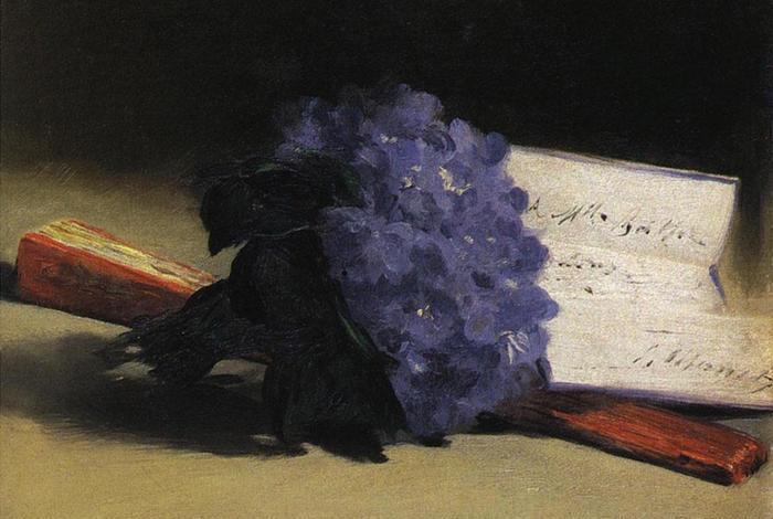 «Букет фиалок» для Берты от Эдуарда.