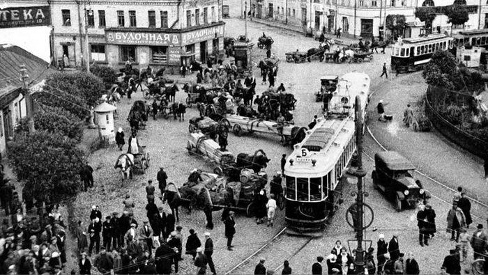 Москва, какой она было до сносов в рамках Генплана.