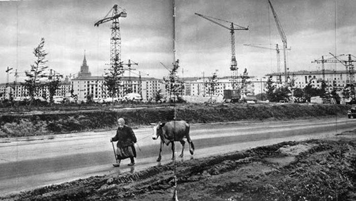 Москва на стыке времён.