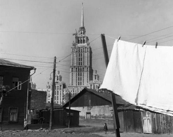 Дорогомилово и гостиница Украина.
