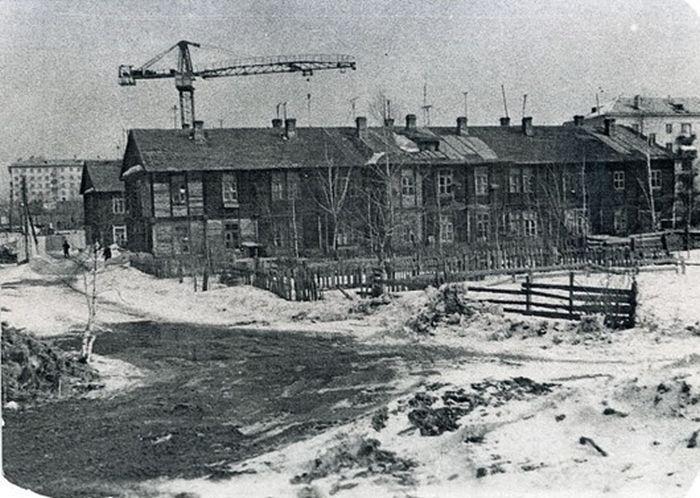 Бараки Астрадамского посёлка.