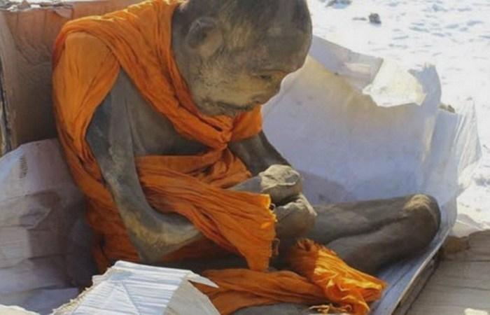 Монах из Монголии.