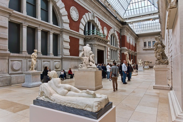 Метрополитен-музей, Нью-Йорк.