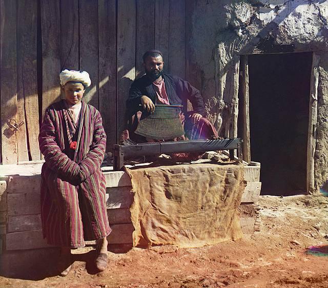 Шашлычная в Самарканде.