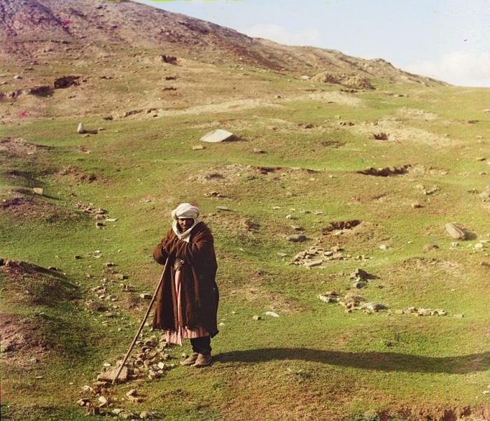 Узбекский пастух.