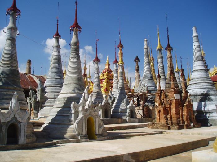 Дома-храмы.