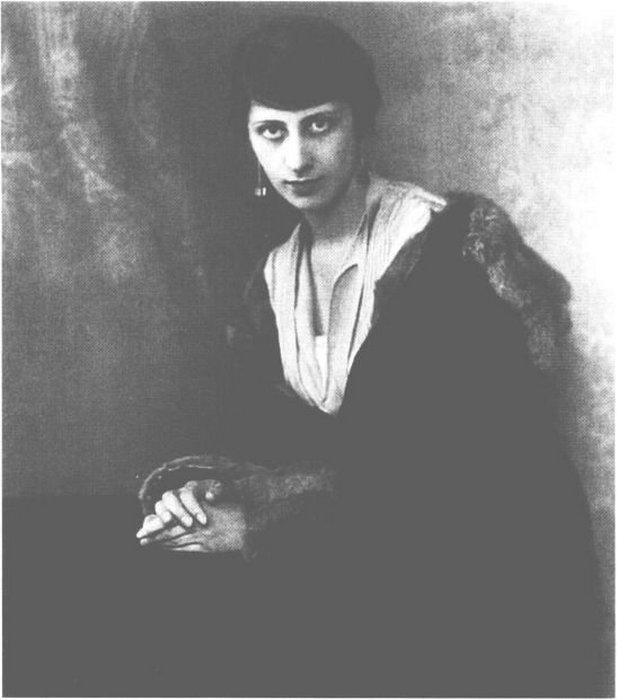 Вера Слоним, 1926 год.