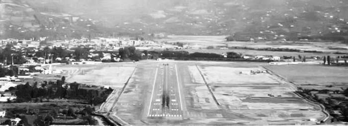 Аэропорт, где произошла трагедия.