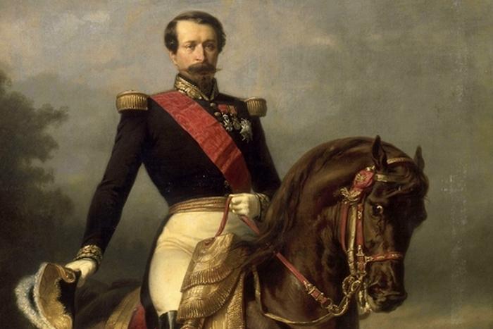 Наполеон III на коне. / Фото: leonidzl.com