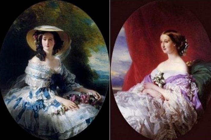 Евгенией де Монтихо - графиня и настоящая красавица. / Фото: gallery-nn.ru