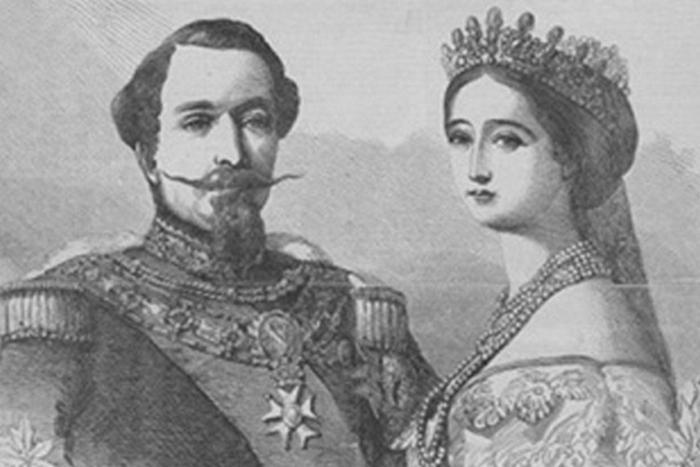 Наполеон III и графиня Теба \ Фото: gallery.ru