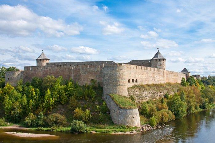 Крепость Нарвы.