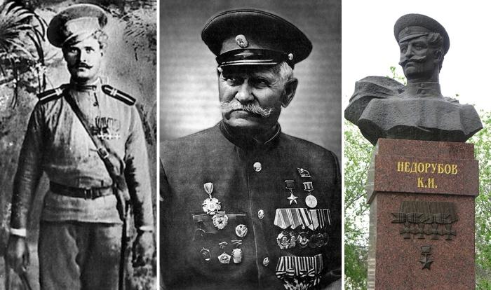 Константин Недорубов – единственный в мире казак, ставший полным Георгиевский кавалером и Героем Советского Союза.